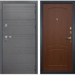 Входная стальная дверь Лекс Легион 3К Софт графит / Береза мореная (панель №11)