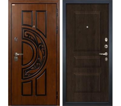Входная стальная дверь Лекс Спартак Cisa Винорит Алмон 28 (панель №60)