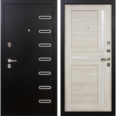 Входная дверь Лекс Витязь Баджио Ясень кремовый (панель №49)
