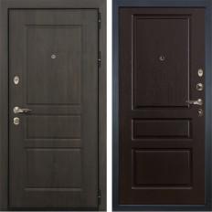 Входная дверь Лекс Сенатор Винорит Ясень шоколад (панель №93)