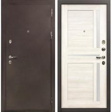 Входная дверь Лекс 5А Цезарь Баджио Дуб беленый (панель №47)