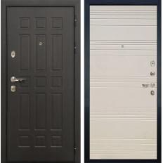 Входная дверь Лекс Сенатор 8 Дуб фактурный кремовый (панель №63)