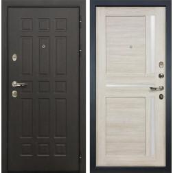 Входная дверь Лекс Сенатор 8 Баджио Ясень кремовый (панель №49)