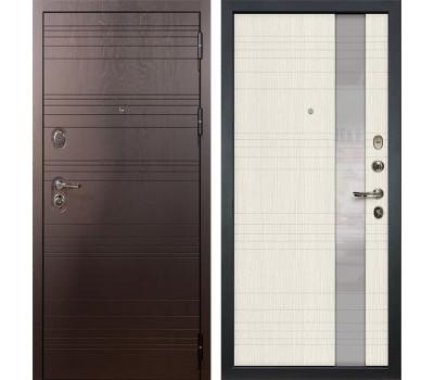 Входная стальная дверь Лекс Легион 3К Новита Дуб беленый (панель №52)