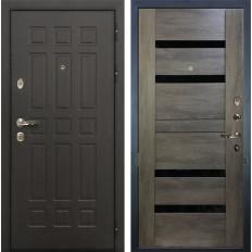 Входная дверь Лекс Сенатор 8 Неро Графит шале (панель №65)