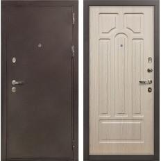 Входная дверь Лекс 5А Цезарь Дуб беленый (панель №25)