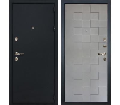 Входная стальная дверь Лекс 2 Рим Графит софт Квадро (панель №72)