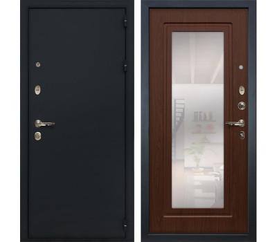 Входная стальная дверь Лекс 2 Рим с Зеркалом Береза мореная (панель №30)