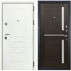 Входная дверь Лекс Легион 3К Шагрень белая / Баджио Венге (панель №50)