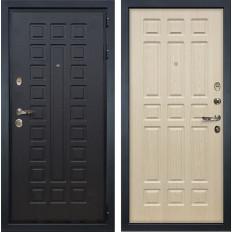 Входная дверь Лекс Гладиатор 3К Дуб беленый (панель №28)