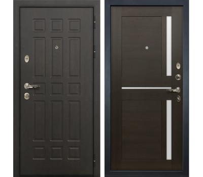 Входная металлическая дверь Лекс Сенатор 8 Баджио Венге (панель №50)