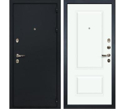 Входная стальная дверь Лекс 2 Рим Вероника-1 Шпон Эмаль Белая (панель №55)