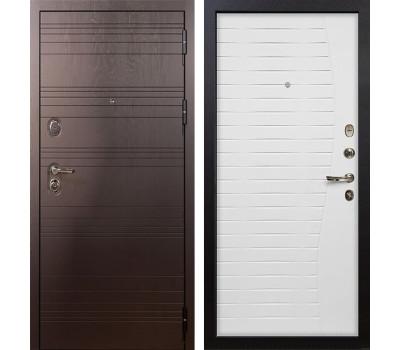 Входная стальная дверь Лекс Легион 3К Ясень белый (панель №36)