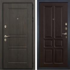 Входная дверь Лекс Сенатор Винорит Ясень шоколад (панель №86)
