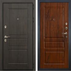 Входная дверь Лекс Сенатор Винорит Винорит дуб тёмный (панель №92)