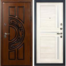 Входная дверь Лекс Спартак Cisa Баджио Дуб беленый (панель №47)