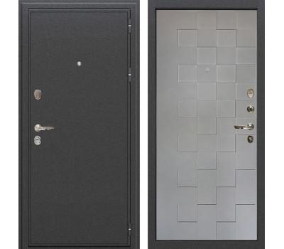Входная стальная дверь Лекс Колизей Графит софт Квадро (панель №72)