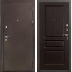 Входная дверь Лекс 5А Цезарь Ясень шоколад (панель №93)