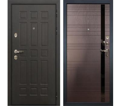 Входная металлическая дверь Лекс Сенатор 8 Ясень шоколад (панель №31)
