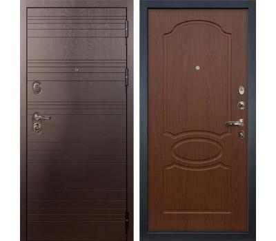 Входная стальная дверь Лекс Легион 3К Береза мореная (панель №12)