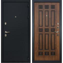 Входная дверь Лекс 2 Рим Винорит Голден патина черная (панель №33)