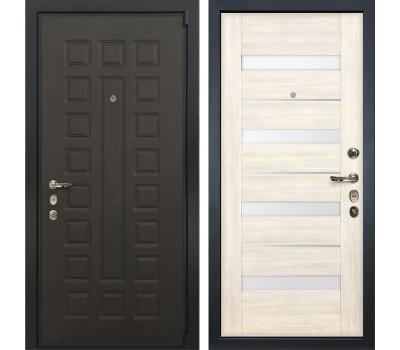 Входная стальная дверь Лекс 4А Неаполь Mottura Сицилио Дуб беленый (панель №46)