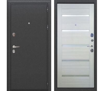 Входная стальная дверь Лекс Колизей Клеопатра-2 Дуб беленый (панель №58)