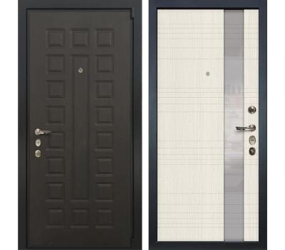 Входная стальная дверь Лекс 4А Неаполь Mottura Новита Дуб беленый (панель №52)