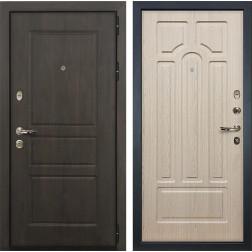 Входная дверь Лекс Сенатор Винорит Дуб беленый (панель №25)