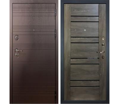 Входная стальная дверь Лекс Легион 3К Терра Графит шале (панель №64)
