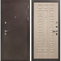 Входная стальная дверь Лекс 5А Цезарь Дуб беленый (панель №20)