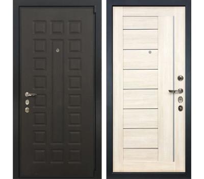 Входная стальная дверь Лекс 4А Неаполь Mottura Верджиния Дуб беленый (панель №38)
