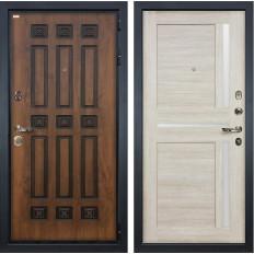 Входная дверь Лекс Гладиатор 3К Винорит Баджио Ясень кремовый (панель №49)