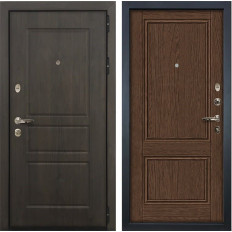 Входная дверь Лекс Сенатор Винорит Энигма-1 Орех (панель №57)