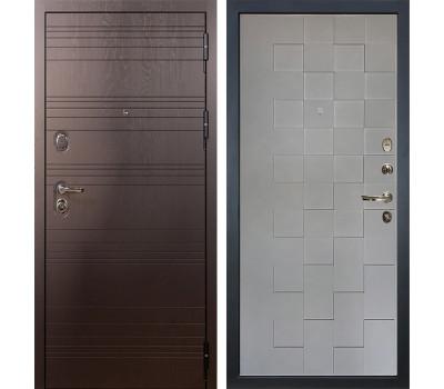 Входная стальная дверь Лекс Легион Графит софт Квадро (панель №72)