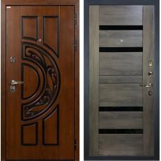 Входная дверь Лекс Спартак Сisa Неро Графит шале (панель №65)