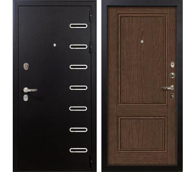Входная металлическая дверь Лекс Витязь Энигма-1 Орех (панель №57)