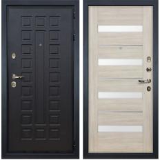 Входная дверь Лекс Гладиатор 3К Сицилио Ясень кремовый (панель №48)