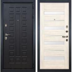 Входная дверь Лекс Гладиатор 3К Сицилио Дуб беленый (панель №46)