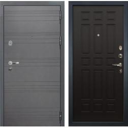 Входная стальная дверь Лекс Легион 3К Софт графит / Венге (панель №29)