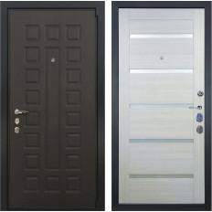 Входная дверь Лекс 4А Неаполь Mottura Клеопатра-2 Дуб беленый (панель №58)