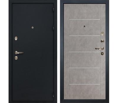 Входная стальная дверь Лекс 2 Рим Бетон серый (панель №80)