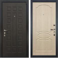 Входная дверь Лекс 4А Неаполь Mottura Дуб беленый (панель №14)