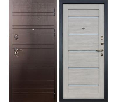 Входная стальная дверь Лекс Легион 3К Клеопатра-2 Ясень кремовый (панель №66)