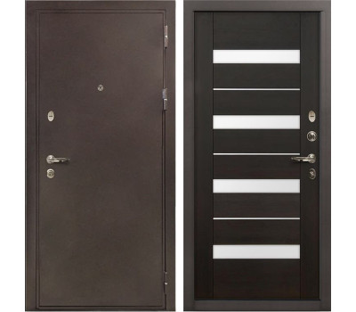 Входная стальная дверь Лекс 5А Цезарь Сицилио Венге (панель №51)