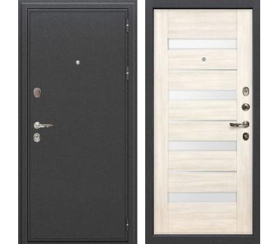 Входная стальная дверь Лекс Колизей Сицилио Дуб беленый (панель №46)