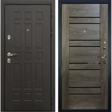 Входная дверь Лекс Сенатор 8 Терра Графит шале (панель №64)