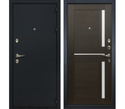 Входная стальная дверь Лекс 2 Рим Баджио Венге (панель №50)