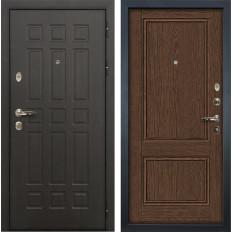 Входная дверь Лекс Сенатор 8 Энигма-1 Орех (панель №57)