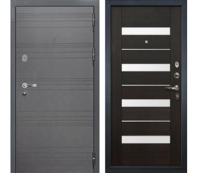 Входная стальная дверь Лекс Легион 3К Софт графит / Сицилио Венге (панель №51)